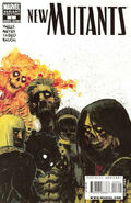 New Mutants Vol 3 6 Variant Zombie
