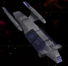 Federation cargo ship