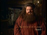 Robbie Coltrane (Rubeus Hagrid) CoS screenshot