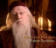 Richard Harris (Professor Dumbledore) CoS screenshot