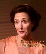 Fiona Shaw (Petunia Dursley) CoS screenshot