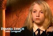Evanna Lynch (Luna Lovegood) HP5 screenshot