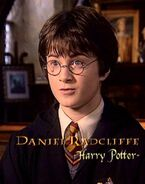 Daniel Radcliffe (Harry Potter) HP2 screenshot