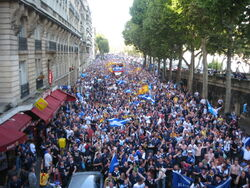 Tartan Army in France