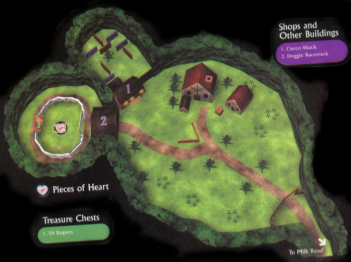 Romani Ranch Map