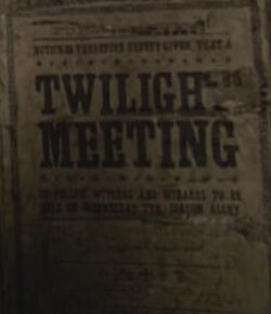 Twilight Meeting