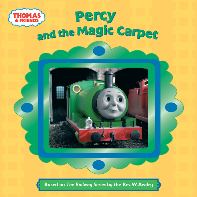 Percy And The Magic Carpet Book Thomas The Tank Engine