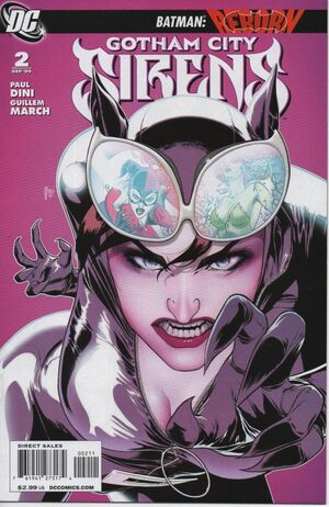 Cover for Gotham City Sirens #2