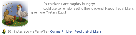 Feed the chicken askhelp