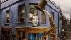 Weasleys Wizards Wheezes shop