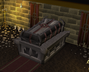 Count Draynor&#39;s coffin
