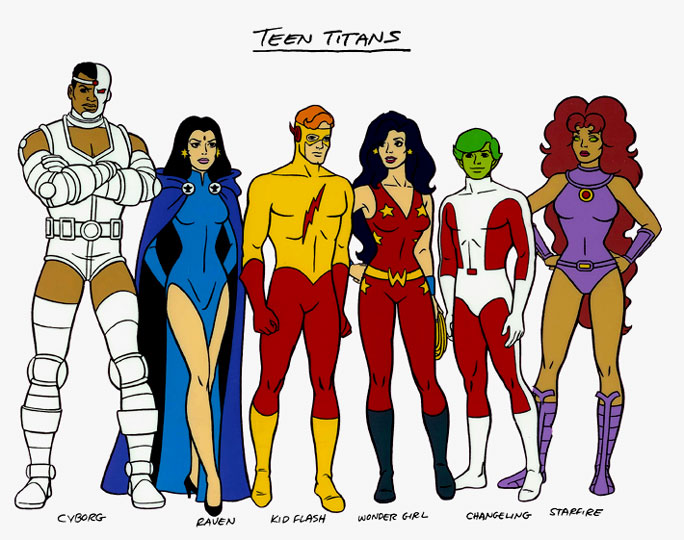 Teen Titans Characters