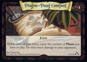 Dragon-Dung Compost (Harry Potter Trading Card)