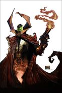 Spawn comic cover 185a cl