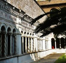 The Cloister at St John Lateran, decorated in the Cosmatesque style by the Vassalletti Family -4 (2)