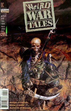 Cover for Weird War Tales #4