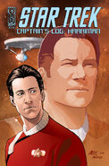 Captain&#39;s Log Harriman cover