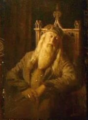 Albus Dumbledore&#39;s portrait