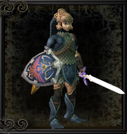 Link Wearing Zora Armor