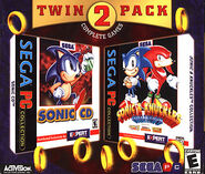 Twin 2 Pack Sonic CD Sonic &amp; Knuckles Collection