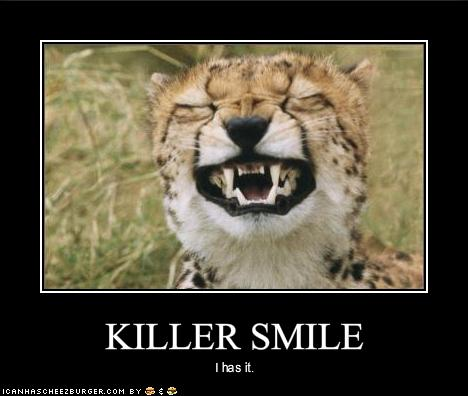 Funny and crazy smile pictures