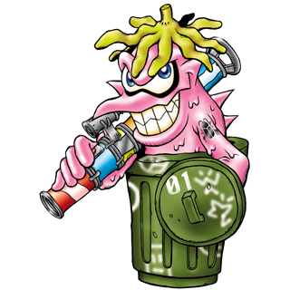 Garbagemon b