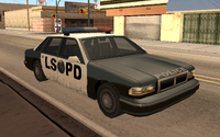 Coche Polica Los Santos