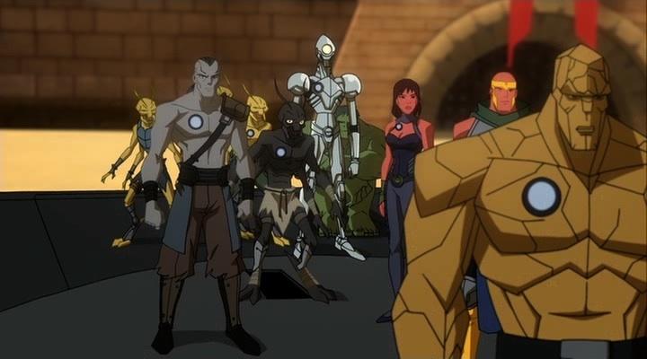 gladiator planet hulk marvel animated universe wiki