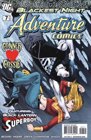 Cover for Adventure Comics #7