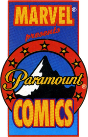 Marvel Paramount Comics logo