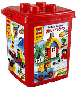 7616-Basic Red Bucket