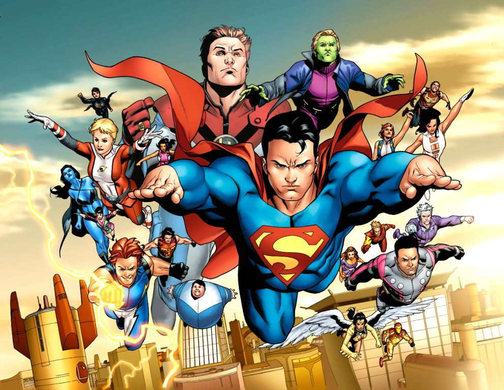 Legion of super-heroes (pre-zero hour) - dc comics database