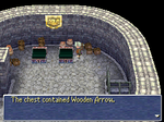 FFIII Sasune Wooden Arrow 2
