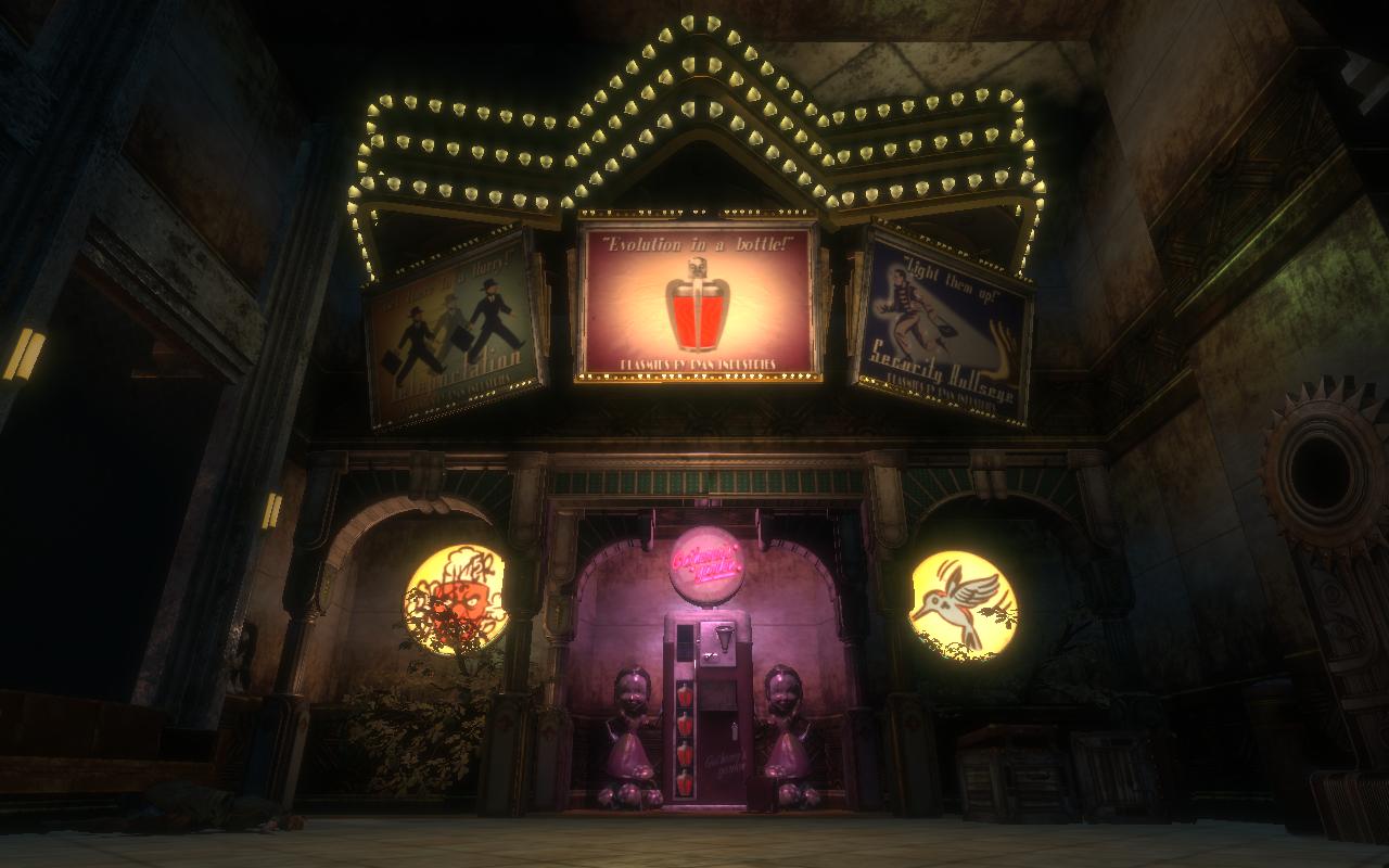 Bioshock 1 slot machine