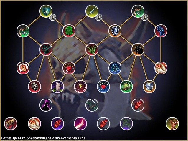 Shadowknight AA Tree