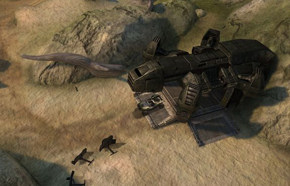 has moved here  Subject  UNSC Albatross  Will We See It In Halo ReachHalo Albatross Dropship