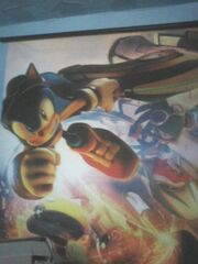 Sonic Riders- Zero Gravity wall scroll
