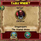 Table Where