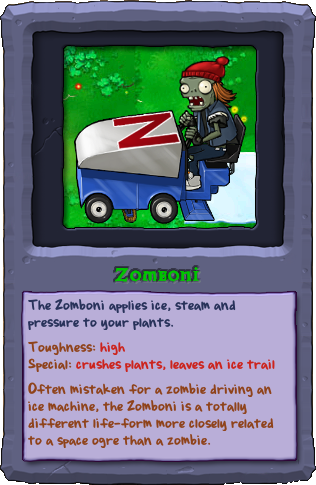 Zombie Plants Vszombies Almanac - 0425