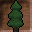 Shaped Tree Icon