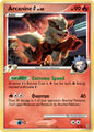 Arcanine TCG G