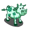Kelly Green Cow-icon