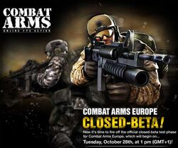 Combat Arms Sign Large
