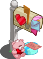 Valentines box smoldering-icon