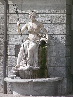 Statue of Amphitrite, Aosta