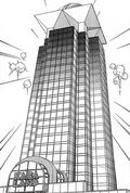Kaiba Land skyscraper