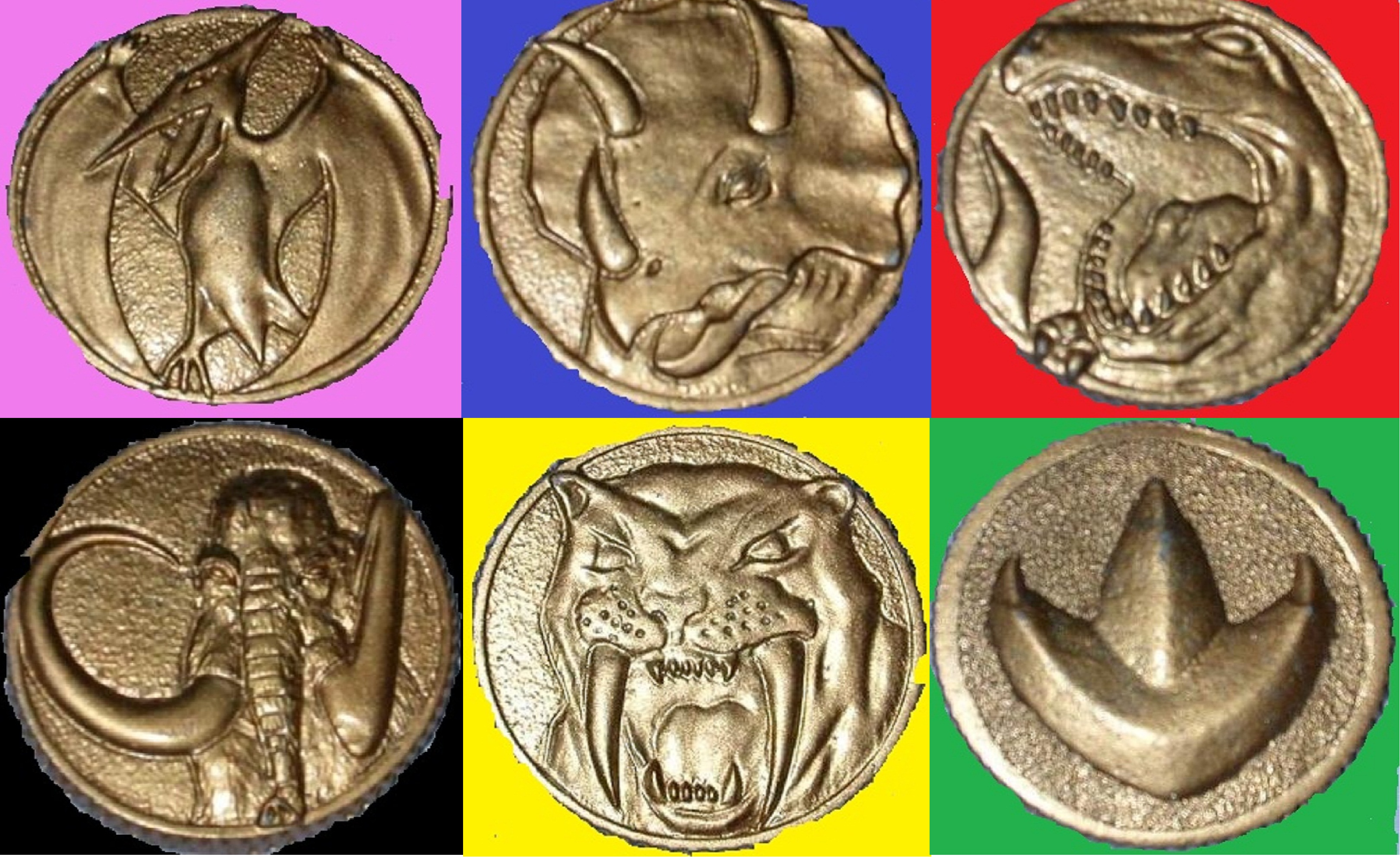 Mighty Morphin Power Rangers Coins