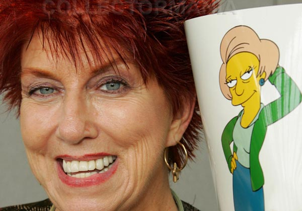 Marcia Wallace, Edna Krabappel, The Simpsons, television, Fox