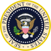 US pres seal