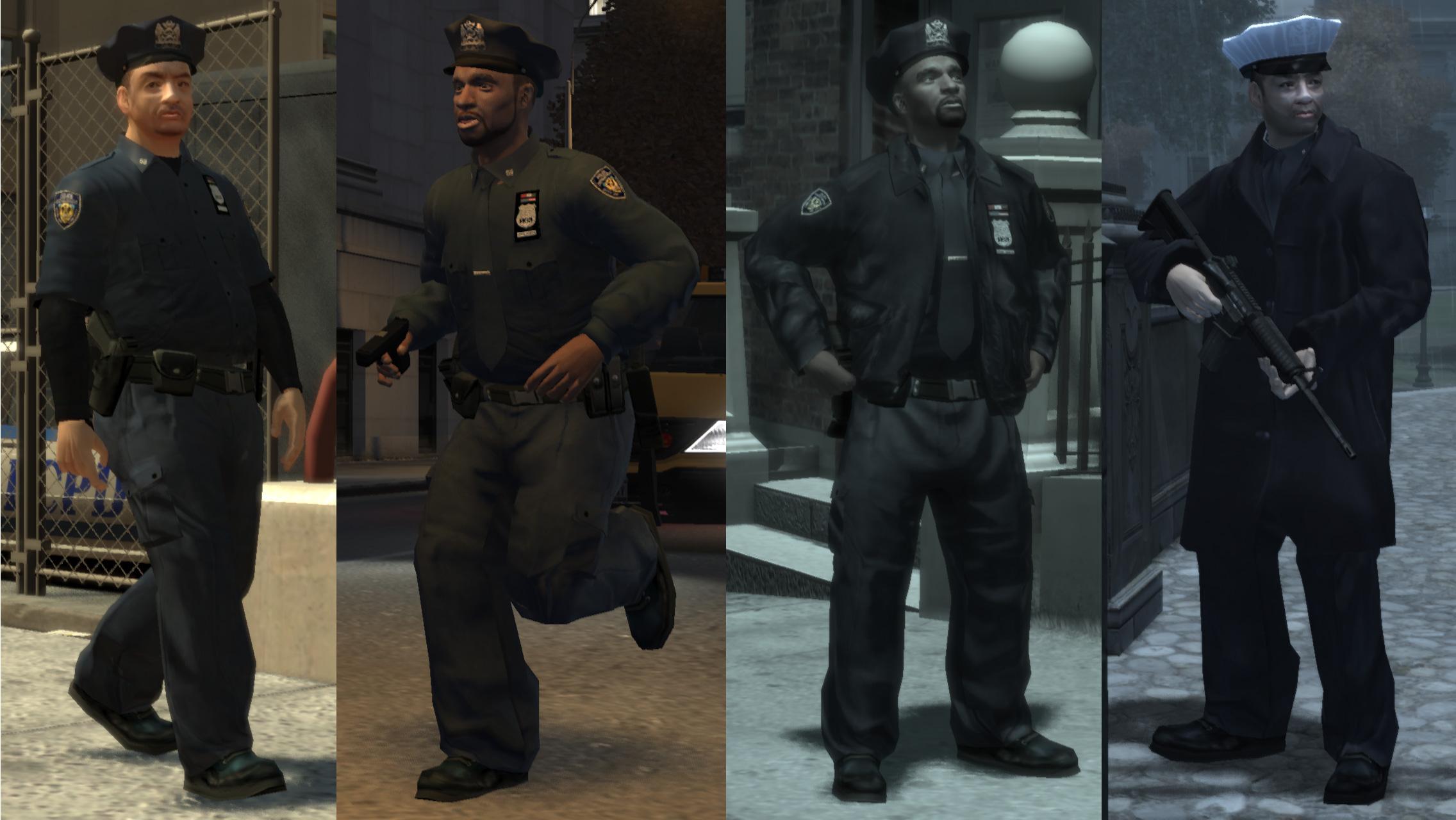 Gta 4 Polis Olma,Polis Kıyafeti,Hilesi,Giyme,Şifresi,Yama,Save
